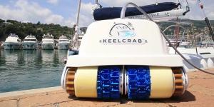 Limpieza de barcos con drones